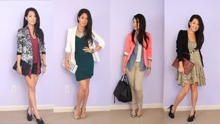 Styling fall blazer jackets