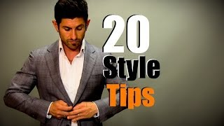 Style tips for men