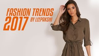 Fashion trends 2017