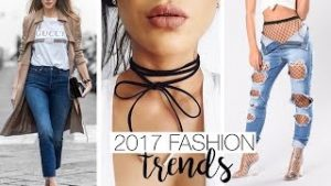 2017 Fashion trends