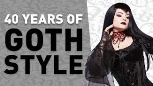 40 years of goth style