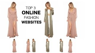 Online fashion website