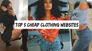 Cheap clothing website
