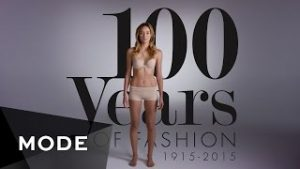 100 years of Womens Fashion
