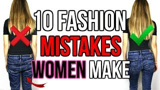 fashion mistaes by women