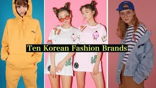 Top Korean Fashion brands
