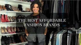 Best Affordable Fashion brands