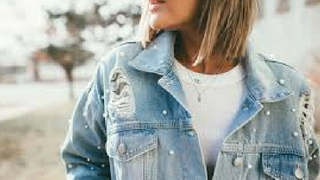 Denim fashion jacket
