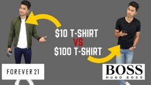 Cheap vs expensive clothing