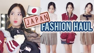 Japan Fashion haul