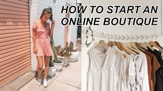 Start an Online Boutique