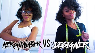 Fashion merchandiser vs Designer