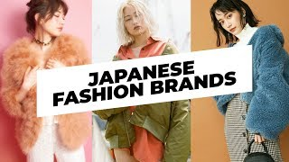 Japanese Fashion Brands