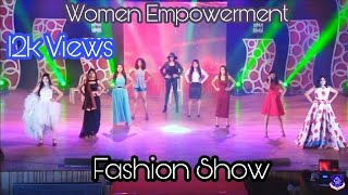 Women's empowerment fashion Show