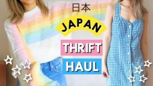 Thrift Shopping in Japan