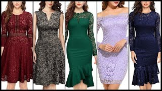 Latest trendy women cocktail dresses