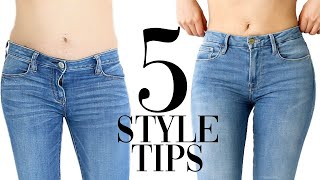 5 style tips