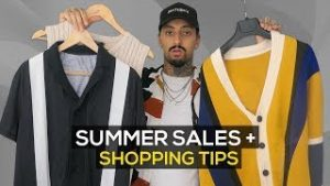 shopping tips for men's fashion