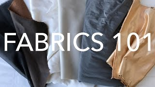 Learning About Fabrics