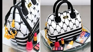 fashion handbag cake