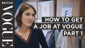 How to get into Fashion Journalism